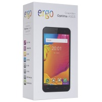 Смартфон ERGO Optima A503  Dual Sim Black