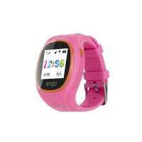 Детские часы-трекер ERGO GPS Tracker Junior Color J010 Pink
