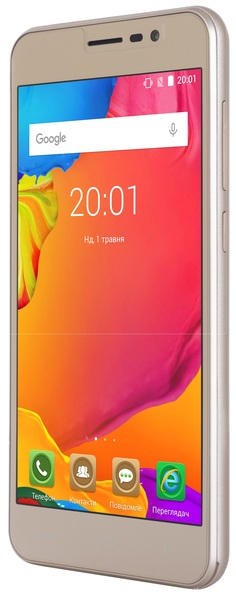 Смартфон ERGO Optima A503 Dual Sim Pure Gold зображення 3