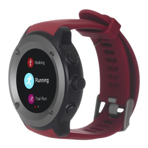 Фітнес-пристрій ERGO Sport GPS HR Watch S010 Red