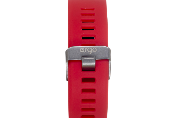 Фітнес трекер ERGO Fit Band HR BP F010 Red зображення 3
