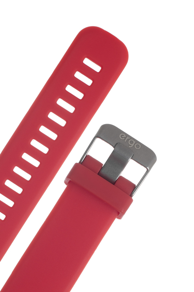 Фітнес трекер ERGO Fit Band HR BP F010 Red зображення 5