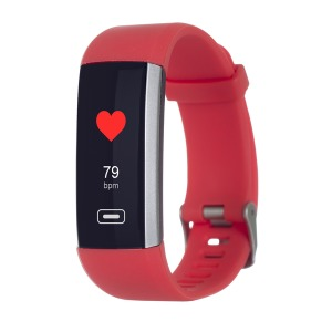 Фітнес трекер ERGO Fit Band HR BP F010 Red зображення 1