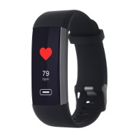 Фітнес трекер ERGO Fit Band HR BP F010 Black