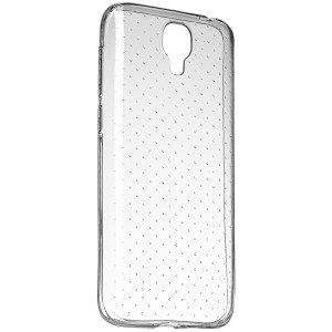 Чохол ERGO F502 Platinum - TPU Clean+9H Glass Transparent