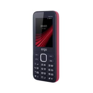 Мобільный телефон ERGO F243 Swift Dual Sim Red
