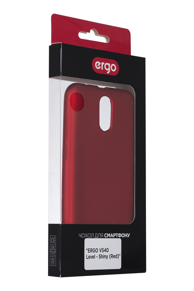 Чохол ERGO V540 Level - Shiny Red зображення 1